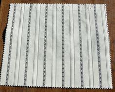 "Polo Ralph Lauren 100% Cotton Stripe Sample Fabric Remnant 12"" x 10.5"" Heyward #PoloRalphLauren"