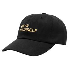 af048dd95fa 2017 new summer autumn baseball cap KNOW YOURSELF cap hat for man women  outdoor golf cap travel snapback fashion breathable