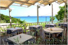 Overlooking the beautiful Avithos Beach. Greece Wedding, Wedding Reception Venues, Wine List, Outdoor Furniture Sets, Outdoor Decor, Corfu, Places Ive Been, Trip Advisor, Greek