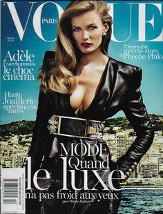 Vogue magazine Luxury fashion Adele Exarchopoulos Phoebe Philo Accessories