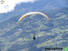 Paragliding Cuenca Ecuador  Adventure trip.