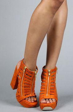 Senso Diffusion - The Kansas Shoe in Orange