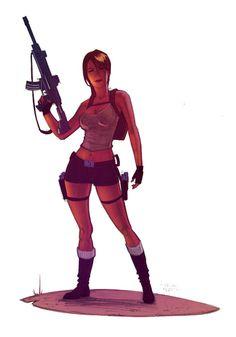 Lara Croft - Tomb Raider - Andrew Herman