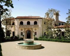 Vintage Hollywood Homes judy garland's home, which was designed for her in 1938! 1938