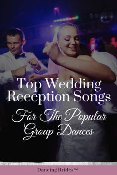 Planning the music for your wedding day is so much fun!  This playlist of popular songs will fill the dance floor!  #BlackBearCasinoResort #MYPLACEformywedding #Wedding #ReceptionSongs