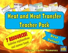 Everything you need to teach heat energy and heat transfer - at a discounted price! Engage your students with notes, puzzles, practice sheets, and labs! $
