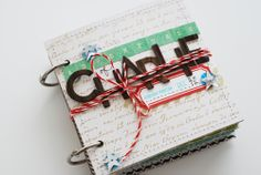Adventures of Charlie : an elf on the shelf mini book by nicolereaves at Studio Calico Christmas And New Year, All Things Christmas, Christmas Crafts, Christmas Ideas, Mini Scrapbook Albums, Mini Albums, Elf Auf Dem Regal, Heritage Makers, An Elf