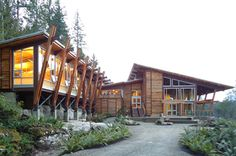 Klahoose Multi-Centre, Squirrel Cove, Cortes Island BC; Merrick Architecture
