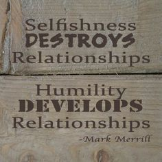 What's one thing that every relationship needs? Humility. Many people think that humility mostly has to do with how you think about yourself. It doesn't. You're not going to be more humble by focusing on yourself. Humility has more to do with how you think of others. Humility doesn't mean that we think less […]