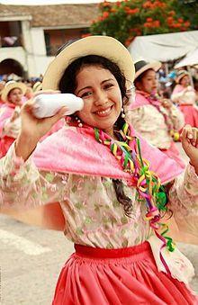 traje tipico de ayacucho peru