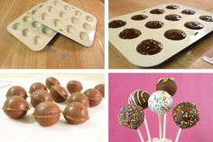 Cake Pop Pan VS. Handmade Cake Pops-cake pops recipe