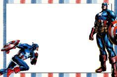Imprimibles del Capitán América