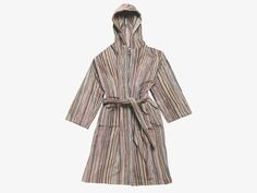 SHADI MULTI-COLOURED Cotton S/M unisex bathrobe - HabitatUK