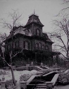 Gothic Victorian house