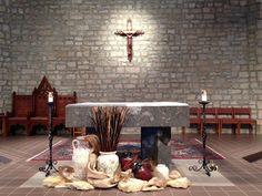 St. Joan of Arc Catholic Church, Lent decorations