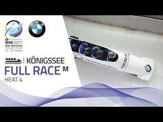 Full Race 4-Man Bobsleigh Heat 4   Königssee   BMW IBSF World Championsh...
