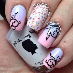Fairy tale nails #nail #nails #nailart