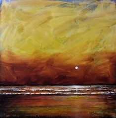 Drama Ocean Painting  - Drama Ocean Fine Art Print