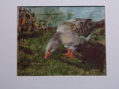 SOLD Shaded Goose