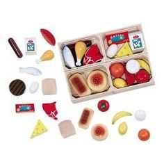 Melissa & Doug® Food Groups Play Set 21-pc.