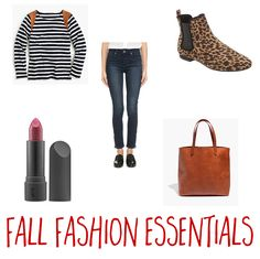 These fall fashion essentials will help to round out any closet. They're the perfect mini fall capsule wardrobe!