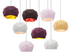 Dot/Dash pendants by Erich Ginder