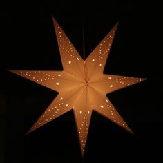 Swedish Christmas star lantern