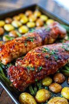 Best Pork Tenderloin Recipe, Best Pork Recipe, Recipe Recipe, Recipes With Pork Fillet, Pork Tenderloin Roast Recipes, Ribs Recipe Oven, Super Recipe, Pork Roast, Recipe Ideas