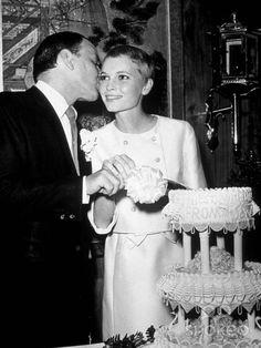 Frank Sinatra and Mia Farrow's wedding, 1966