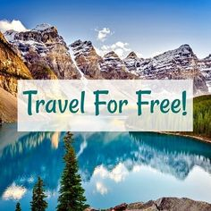 travel for free text overlayed over mountain lake backdrop Best Credit Card Offers, Best Credit Cards, Monthly Budget Worksheet, Budgeting Worksheets, Us Travel, Travel Tips, Travel The World For Free, Free Text, Get Out Of Debt