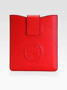Gucci Soho Leather iPad Case