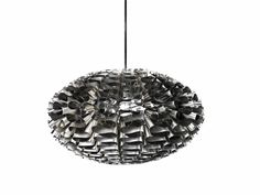 Stainless steel pendant lamp NORM 03 STAINLESS STEEL Norm Collection by Normann Copenhagen | design Britt Kornum
