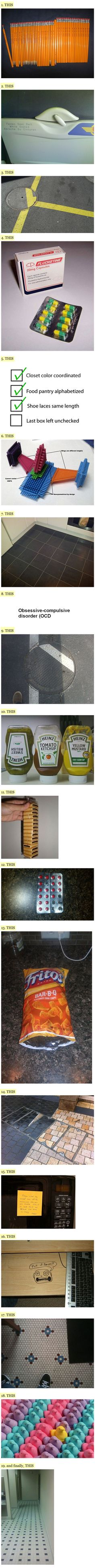 19 Things That Will Drive Your OCD Self Insane
