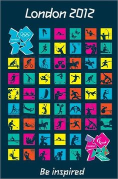 2012 Olympic Games Symbols #london2012 #london #olympics