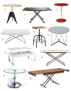Best Height Adjustable Tables 2013 — Apartment Therapy's Annual Guide