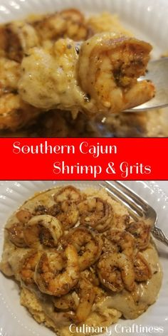Real Southern Cajun Shrimp & Grits | Culinary Craftiness