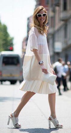 #street #style summer in white @wachabuy