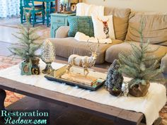 How to Transition From Christmas to Winter Decor - Restoration Redoux