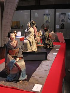 """It is a village doll exhibition now being held in Japan silk! World Tsujimura Toshikazu Collection of """"Jusaburo"""" creative dolls Picture   http://ameblo.jp/jusaburo/entry-11463038328.html"""