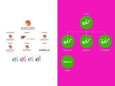 Ireland's eir becomes the latest telecoms provider to abandon the globe for a friendlier face in a major rebrand Branding, Brand Identity, Design Innovation, Brand Architecture, Design Logo, Change, Logos, Business, Brand Management