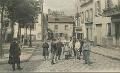 Paris Pictures, Old Pictures, Old Photos, Vintage Photos, Paris Vintage, Old Paris, Montmartre Paris, Place Du Tertre, Palace Of Versailles