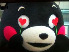 くまモン Kumamon in love