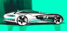 Some new sketches and renders by Grigory Butin, via Behance