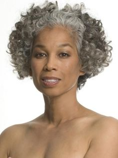 Graying gracefully | Hair - Going Grey / Gray Gracefully - TERUKO BURRELL | Love the gray