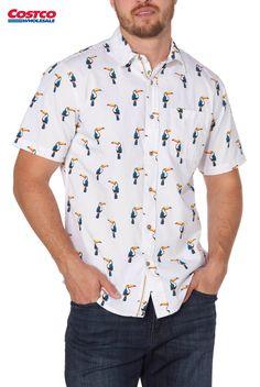 Keaac Mens Cowboy Dress Shirt Short Sleeve Denim Button Down Shirt