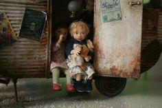 Cute Catherine Muniere doll