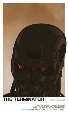 The Terminator - movie poster - Marc Lafon