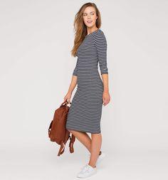 Vestido canalé-C&A