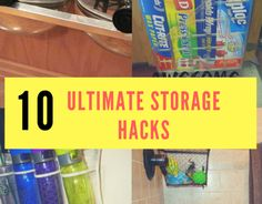 Somehow, I keep running in to storage issues in my home. There are so many things that I buy for the home but I don't always have a nice place to store those items. For