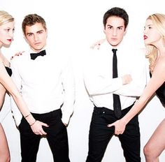 Michael Trevino Posts Racy Crotch Shot Photo With Dave Franco! Damon Salvatore, Franco Brothers, Tyler Shields, Crotch Shots, Dave Franco, Michael Trevino, Lucky Ladies, Shot Photo, Celebs